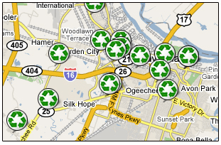 Savannah Recycling Centers
